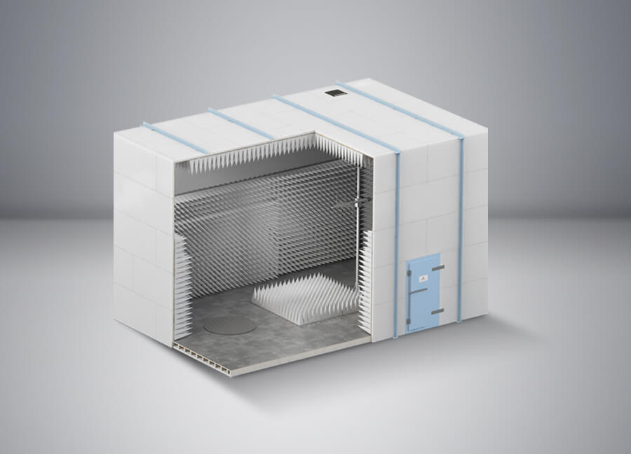 3m Compliant EMC Test Chamber - Global EMC Ltd
