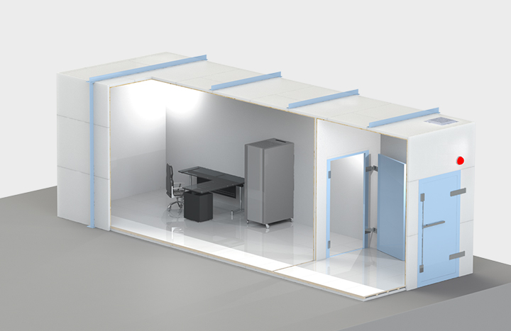 Forensic Shielded Rooms - Global EMC Ltd