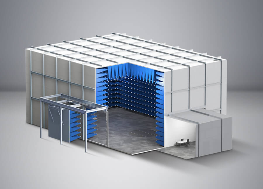 10m Compliant EMC Test Chamber - Global EMC Ltd