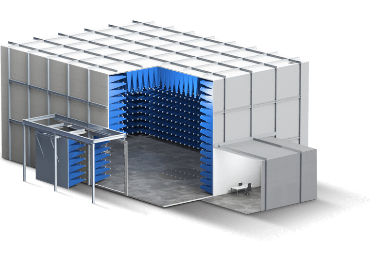 10m Compliant EMC Test Chamber - Global EMC
