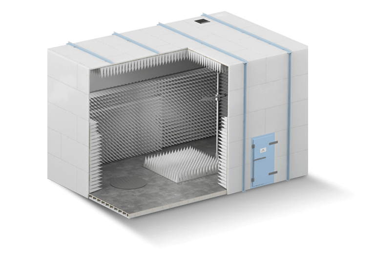 3m Compliant Semi-Anechoic EMC Test Chamber - Global EMC