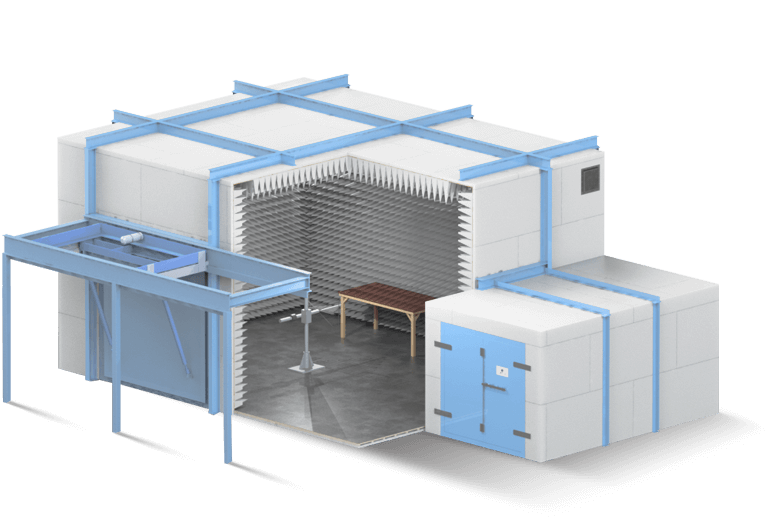 DEF STAN 59-411 Shielded Test Chamber and Facility - Global EMC